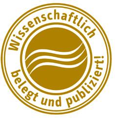 Stempel-Wissenschaft gold neu 2 cm 27.02